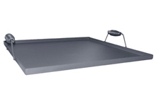 Tomlinson Lift Off Steel Griddle Top, Fits 4 Burners