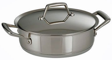 Tramontina Prima 5 Quart Stainless Steel Covered Casserole - 80101/005DS