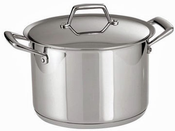 Tramontina Prima Stainless Steel Covered Stock Pot