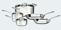 Tri-Ply Clad 8 Piece Tramontina Cookware Set