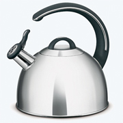 Tramontina Whistling Tea Kettle, 3 Quart With Tri-Ply Bottom