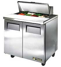 True Sandwich / Salad Prep Unit TSSU-36-8