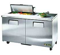 True Sandwich and Salad Prep - TSSU-60-08-HC