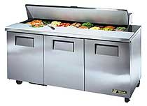 True Sandwich / Salad Unit - TSSU-72-18-HC