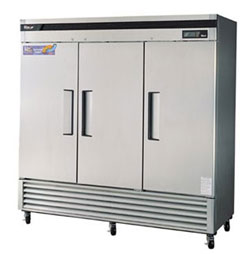 Turbo Air Three Door Reach-In Freezer