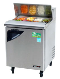 Turbo Air 28 Inch Super Deluxe Sandwich-Salad Unit