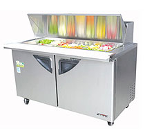 Turbo Air 60 Inch Super Deluxe Mega Top Sandwich Table
