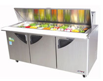 Turbo Air 72 Inch Super Deluxe Mega Top Sandwich Table