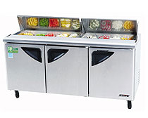 Turbo Air 72 Inch Super Deluxe Sandwich-Salad Unit