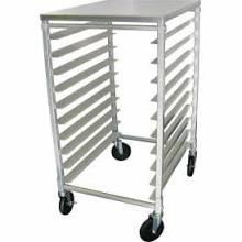 Update Heavy Duty 10-Tier Aluminum Pan Rack With Work Top