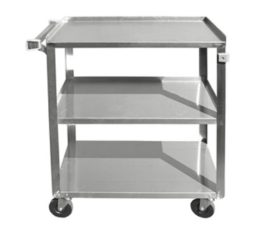 Three Tier Stainless Steel Bus Cart - BC-2415SS