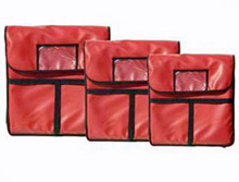 Update International Red 20 Inch Insulated Pizza Delivery Bag - PIB-20