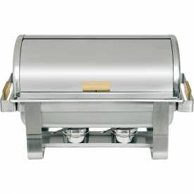 Deluxe Rolltop Chafing Dish - RTC-8