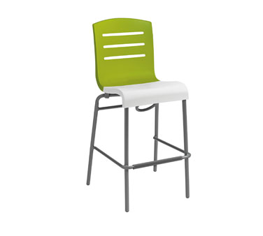 Grosfillex Domino Stacking Bar Stool 2 Pack US051152