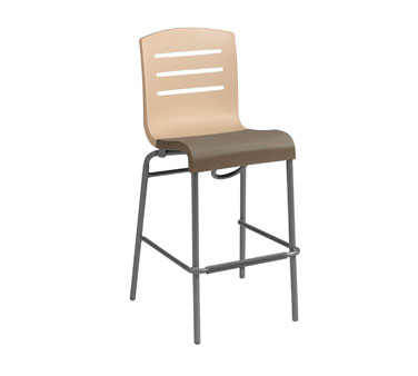 Grosfillex Domino Stacking Bar Stool 2 Pack US051413