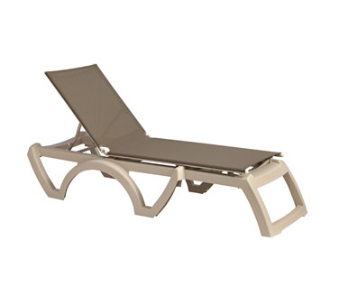 Grosfillex Calypso Chaise US366181 - Case of 12