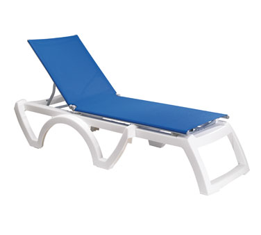 Grosfillex Calypso Chaise US476006 - Case of 12