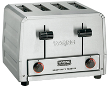 Waring Heavy-Duty 240V Standard Commercial Toaster Model WCT805