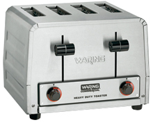 Waring Heavy-Duty 208V Standard Commercial Toaster Model WCT805B