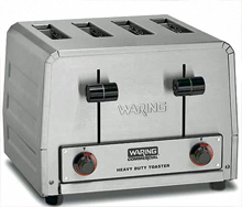 Waring Heavy-Duty 120V Combination Commercial Toaster Model WCT810