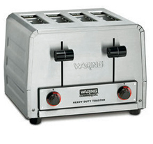 Waring Heavy-Duty 240V Commercial Bagel or Bun Toaster Model WCT825