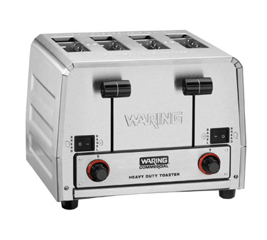 Waring Heavy-Duty 208V Switchable Bagel/Toast Toaster Model WCT850