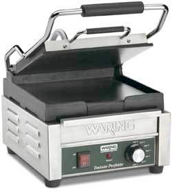 Waring Tostato Perfetto Compact Flat Surface Panini Grill - WFG150