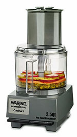 Waring 2.5 Quart Commercial Food Processor With Sealed Bowl