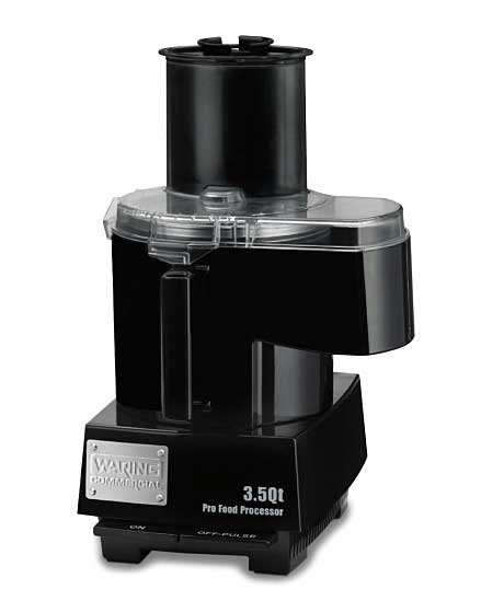 Waring 1 HP Commercial Food Processor - 3.5 Quart