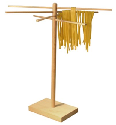 Roma Bamboo Pasta Drying Rack
