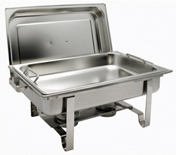 Winware Get-A-Grip 8 Quart Full Size Chafing Dish - C-2080B