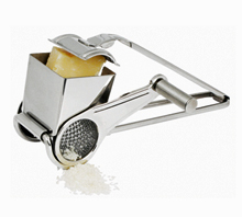 Winco Stainless Steel Rotary Cheese Grater