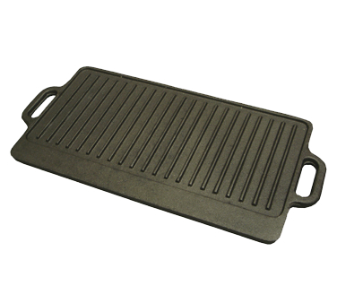 Winco Reversible Cast Iron Griddle Pan