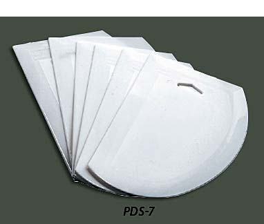 Plastic Dough Scrapers PDS-7, Case of 6
