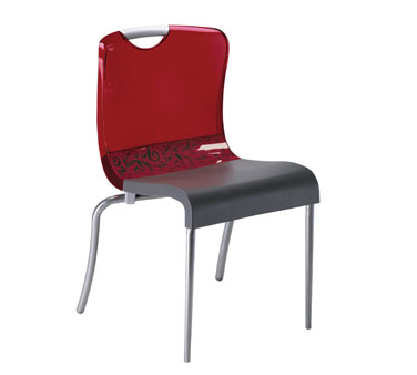Grosfillex Krystal Chair US203207 - Pack of 12