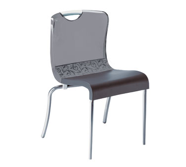 Grosfillex Krystal Chair US203208 - Pack of 12