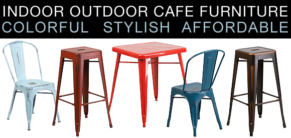 Metal Cafe Furniture