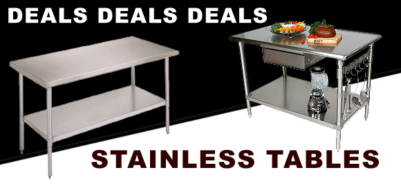 Stainless Tables Deals