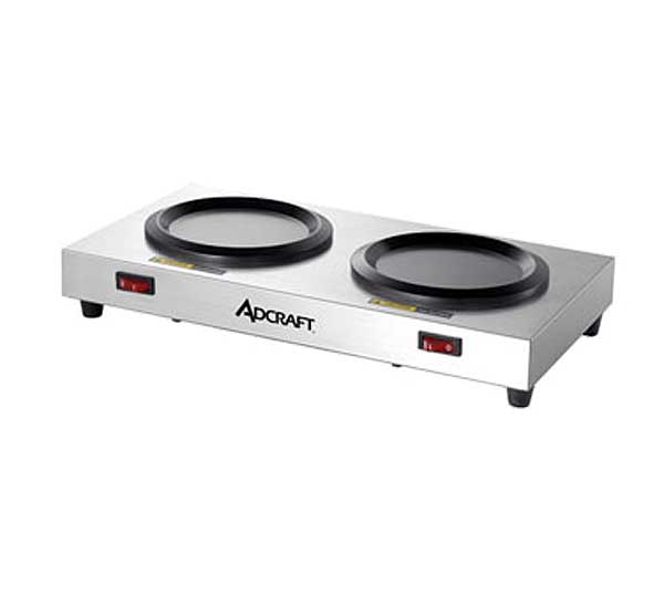 Adcraft Warmer Plate double station - WP-2