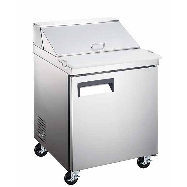 Adcraft Grista Refrigerated Salad/Sandwich Prep Table one-section - GRSL-1D