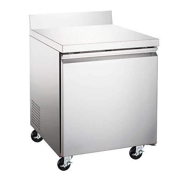 """Adcraft U-STAR Freezer Work Top Counter 27"""" W x 29.5"""" D x 38.75"""" H overall size - USWF-1D"""