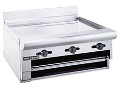 Raised Griddle Broiler from American Range