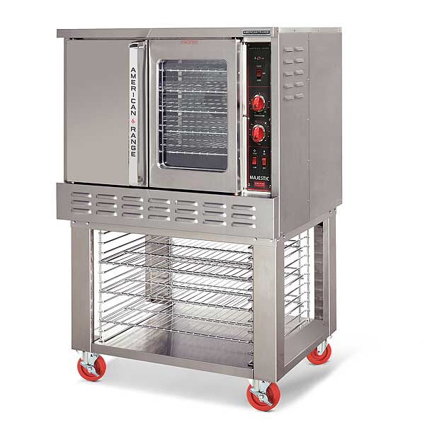 American Range Majestic Convection Oven Single-deck Gas with One Glass Door - MSD-1-GL