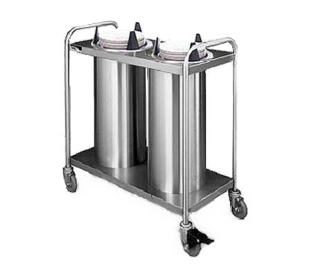 Lowerator Mobile Stainless Plate Dispensers