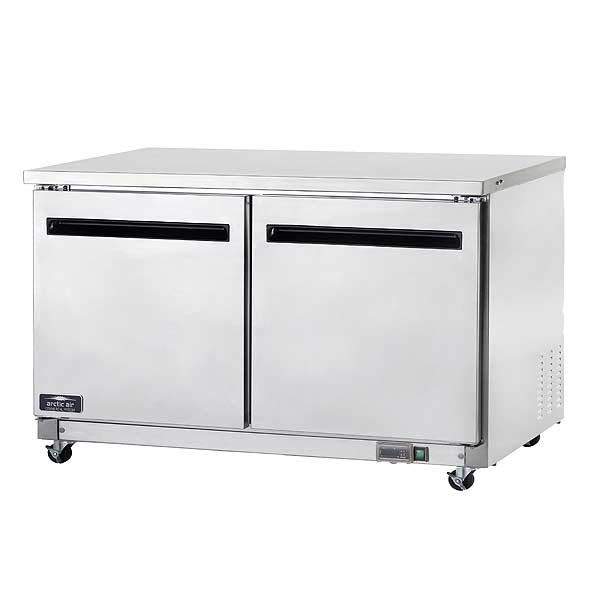 """Arctic Air Refrigerated Work Top Counter 60""""W 15.5 Cu. Ft. Capacity - AUC60R"""