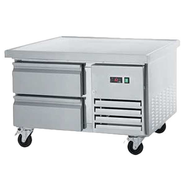 """Arctic Air Refrigerated Chef Base 38""""W Marine Edge Top With 1"""" Extension Per Side - ARCB36"""