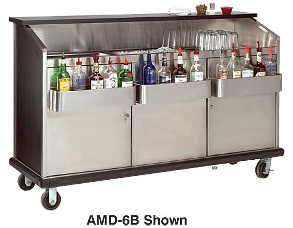 Bar King Amd 6b Ambassador Portable Bar 72 Inches Long