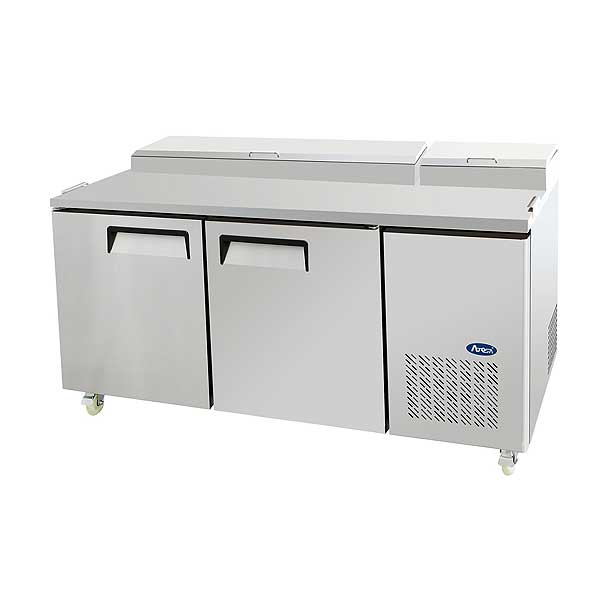 Atosa Refrigerated Pizza Prep Table Two-section - MPF8202GR