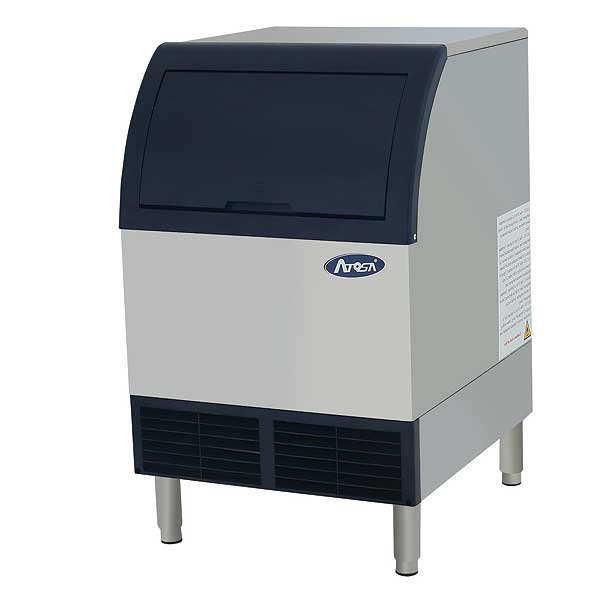 Atosa Ice Maker with Bin Cube-style Air-cooled - YR140-AP-161
