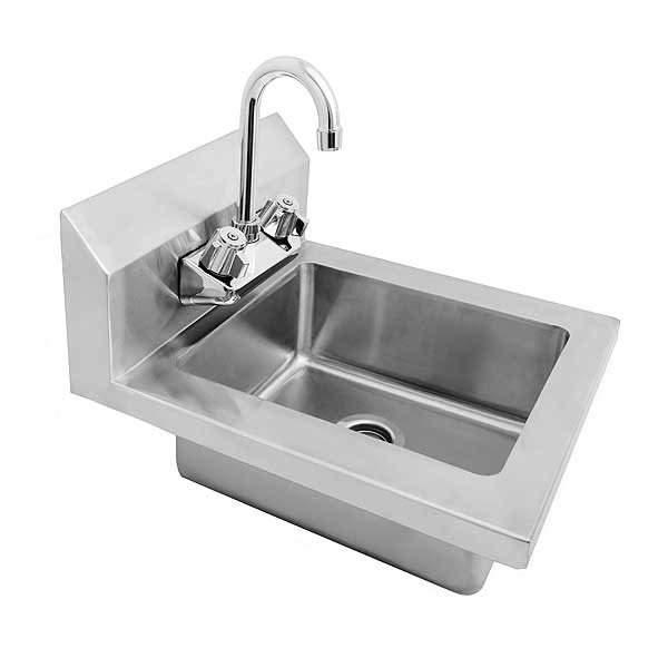 "Atosa MixRite Hand Sink 14""W Wall Mount - MRS-HS-14"
